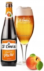 ST LOUIS PREMIUM PECHE Botella cerveza 25cl - 2.6º