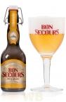 BON SECOURS BLONDE Botella cerveza 33cl - 8º