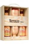 WATERLOO 2X75CL + 2 VASOS CALIZ Estuche Cerveza 75 Cl